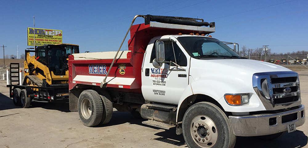 Truck & Bobcat Ready To Go